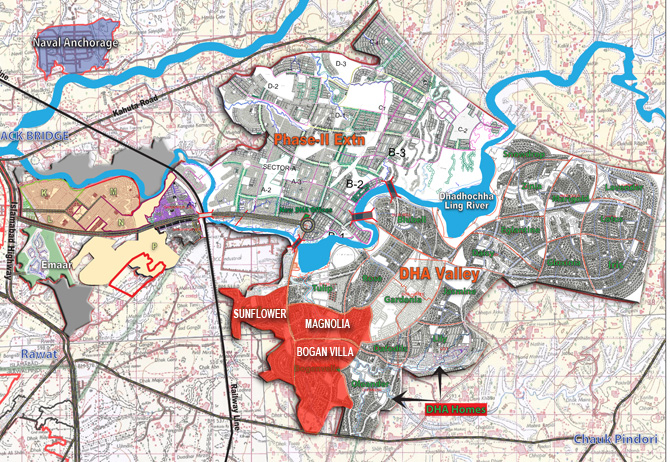 dha valley latest plan